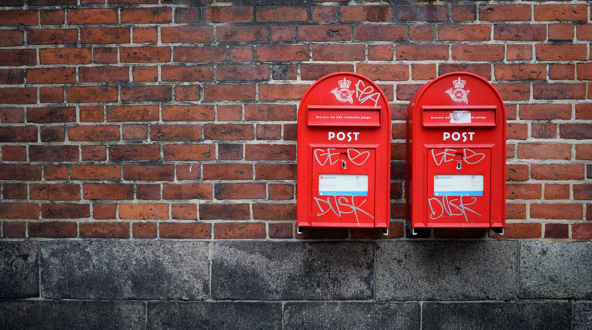 Mailboxes. Photo: Kristina Tripkovic / Unsplash